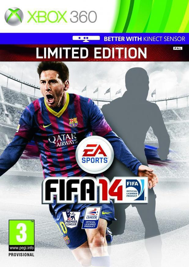 FIFA 14 cover unveil teaser