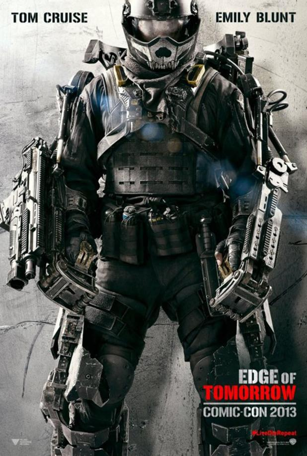 'Edge of Tomorrow' (formerly 'All You Need is Kill' Comic-Con poster)