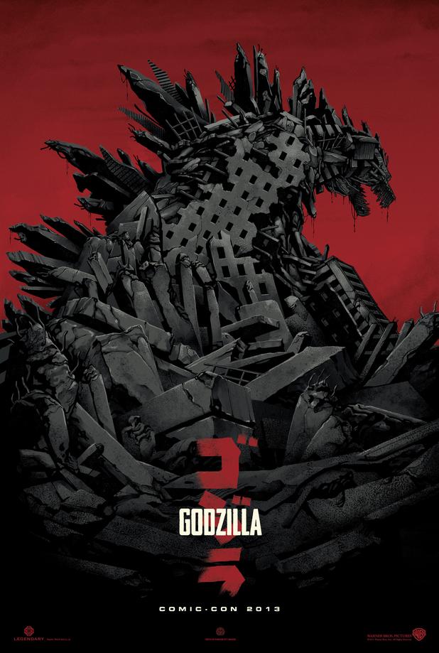 Godzilla Comic-Con poster