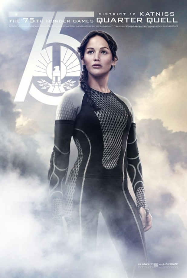 The Hunger Games: Catching Fire character posters