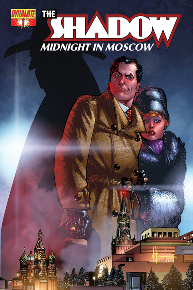 The Shadow: Midnight in Moscow cover design