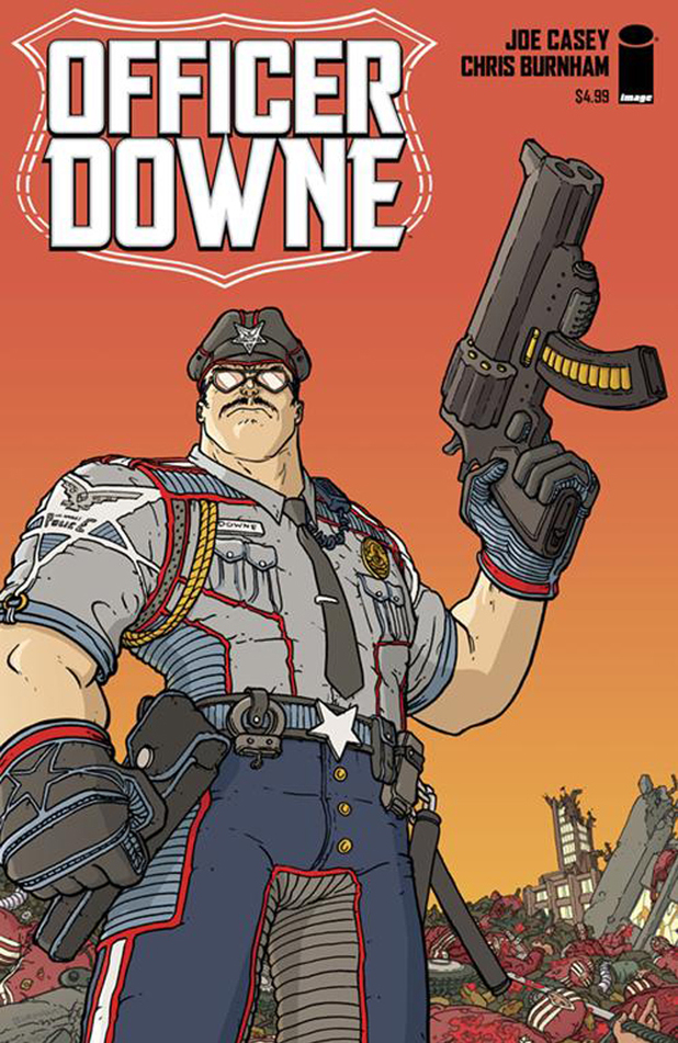 'Officer Downe' cover artwork