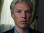 Cumberbatch as Julian Assange: video