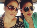 Priyanka Chopra visits Olympic boxer Mary Kom to prepare for new role.
