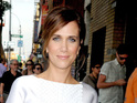 Kristen Wiig reveals she is uncomfortable seeing herself play wacky characters.