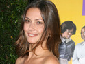 Olga Fonda - who plays Nadia - got engaged to her boyfriend on New Year's Eve.