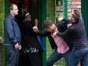Paul and Lloyd's feud reaches new heights in Coronation Street tonight.