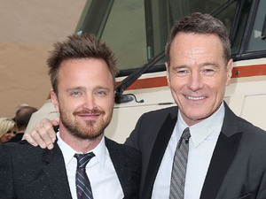 Aaron Paul, Bryan Cranston, Celebrities at AMC 'Breaking Bad' special premiere at SONY Lot