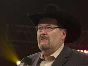 'JR' Jim Ross of the WWE