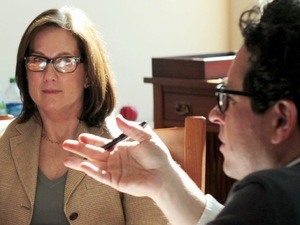 Kathleen Kennedy, JJ Abrams discuss Star Wars Episode VII