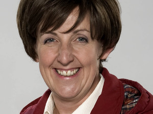 Julie Hesmondhalgh as Hayley Cropper in Coronation Street