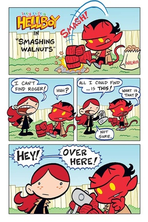 'Itty Bitty Hellboy' #1