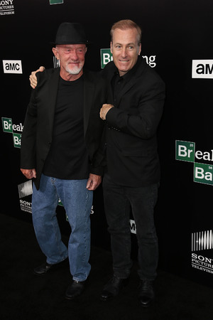 Jonathan Banks, Bob Odenkirk at AMC 'Breaking Bad' special premiere at SONY Lot