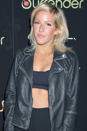 Ellie Goulding At Andrea's Restaurant Prior To Her DJ Set At Surrender Nightclub Inside Encore At Wynn