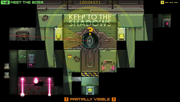Stealth Inc: A Clone in the Dark comes to PS3 and Vita after a release on PC