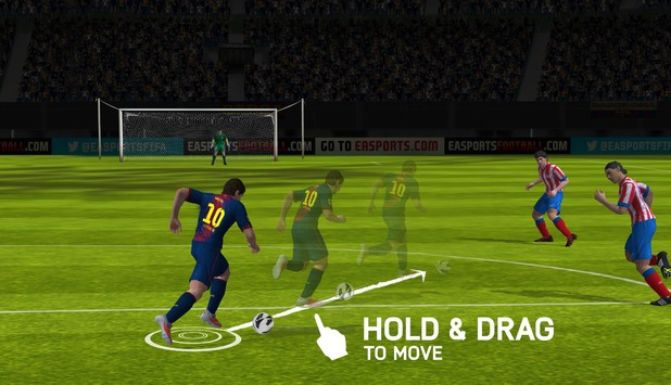 FIFA 14 on mobile