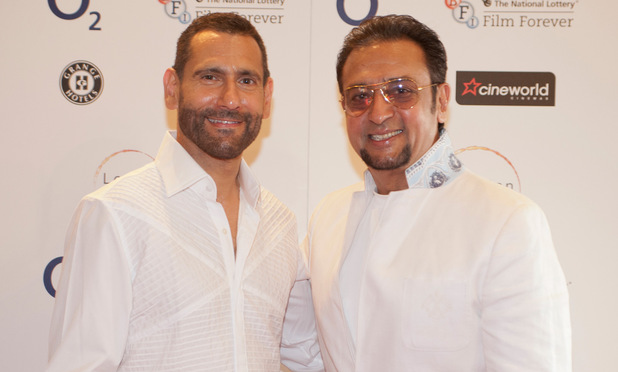 Gulshan Grover with LIFF Director Cary Rajinder Sawhney