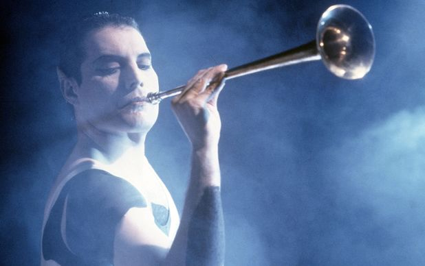 Freddie Mercury 'Queen' video shoot for 'the Great Pretender', Britain - 1987