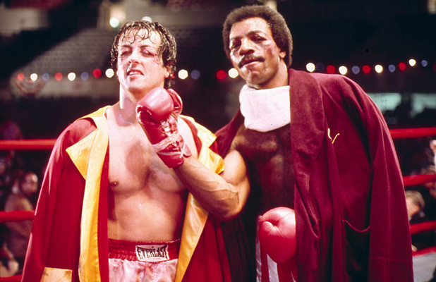 Rocky Balboa and Apollo Creed
