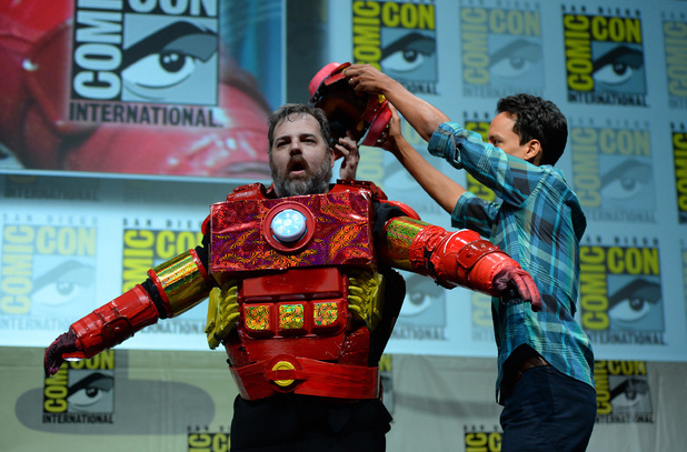 Dan Harmon and Danny Pudi