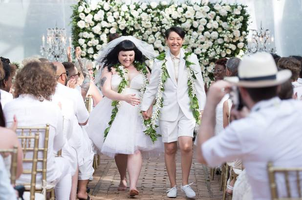 Beth Ditto of The Gossip gets married