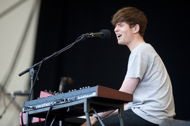 James Blake performing on day 3 of Latitude Festival 2013 in Suffolk