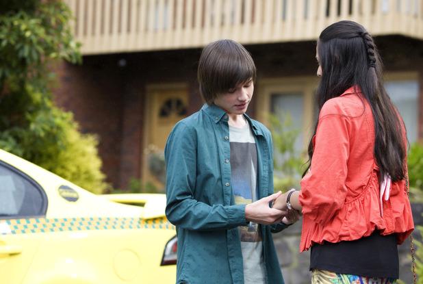 Bailey and Rani say goodbye