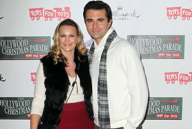 Natasha Henstridge and Darius Campbell