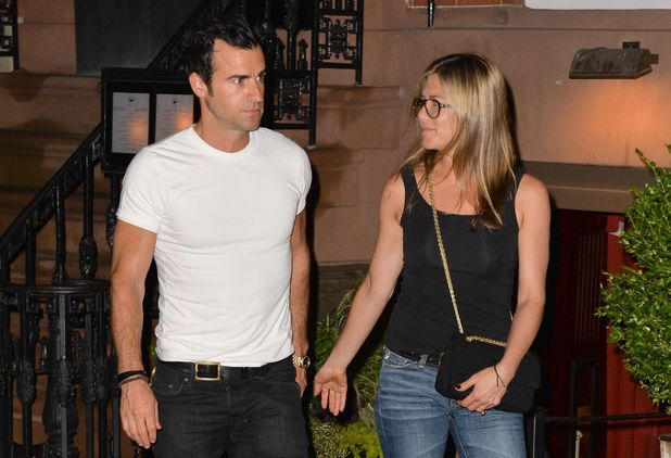 Jennifer Aniston and Justin Theroux out and about, New York, America - 20 Jul 2013