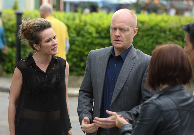 Kirsty confronts Max.
