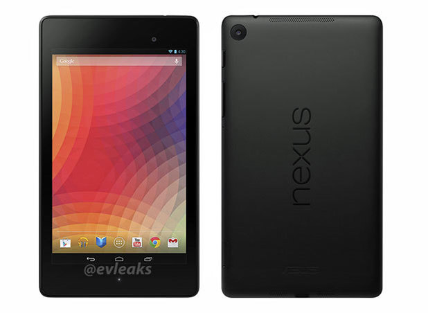 The new Nexus 7: Leaked pictures