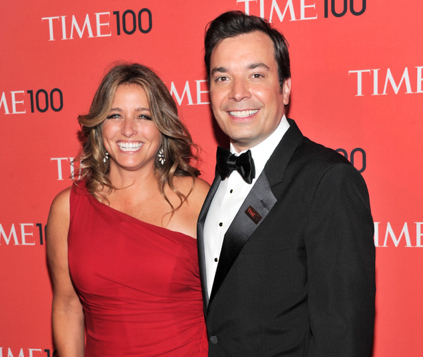 "Jimmy Fallon and wife Nancy Juvonen attend the TIME 100 Gala celebrating the ""100 Most Influential People in the World"""