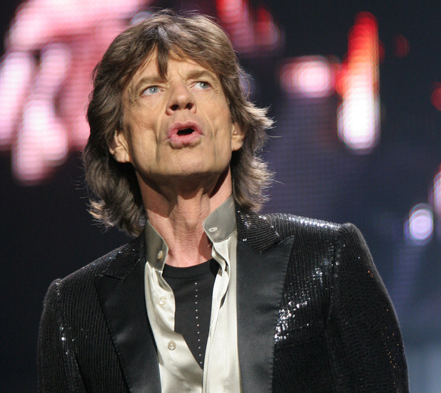 Singer Mick Jagger of The Rolling Stones performs during a concert in New York's Madison Square Garden in this Jan. 18, 2006 file photo.