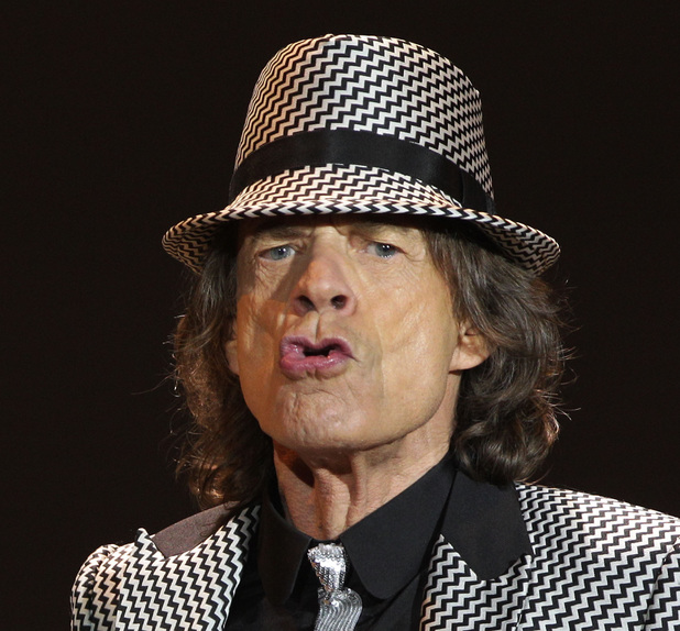 Mick Jagger in 2012