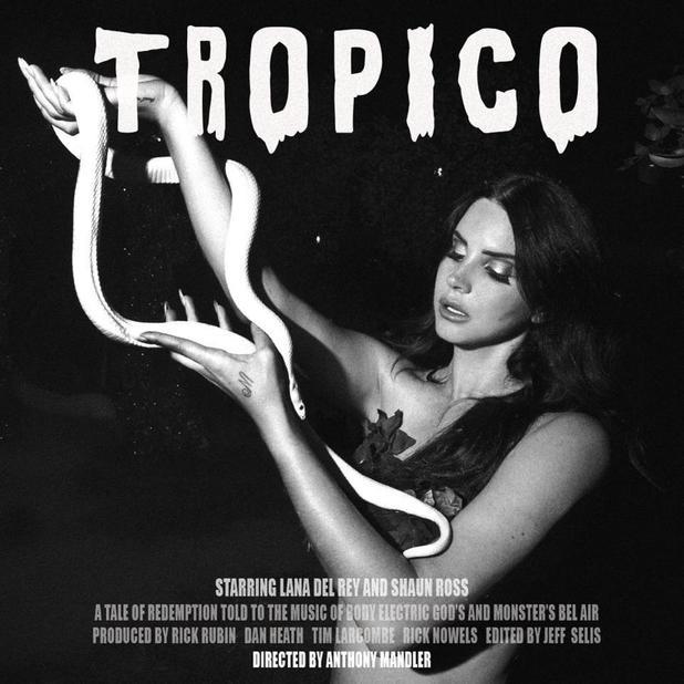 Lana Del Rey's 'Tropico' film poster