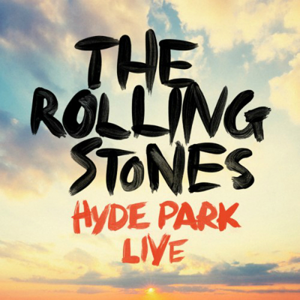 The Rolling Stones 'Hyde Park Live' artwork.