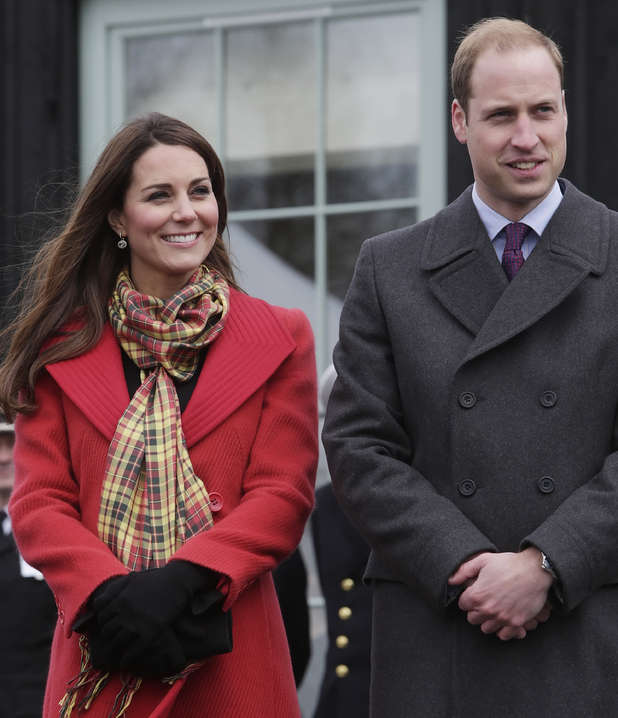 The Duchess of Cambridge, who is known as the Countess of Strathearn and the Duke of Cambridge, who is known as the Earl of Strathearn, when in Scotland, during a visit to Dumfries House in Ayrshire, Scotland.