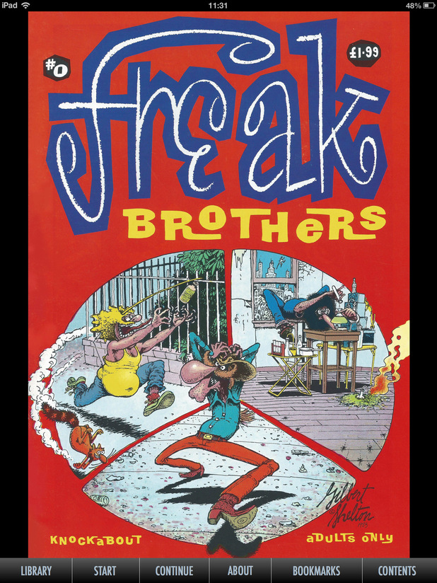 Gilbert Shelton's 'The Fabulous Furry Freak Brothers'