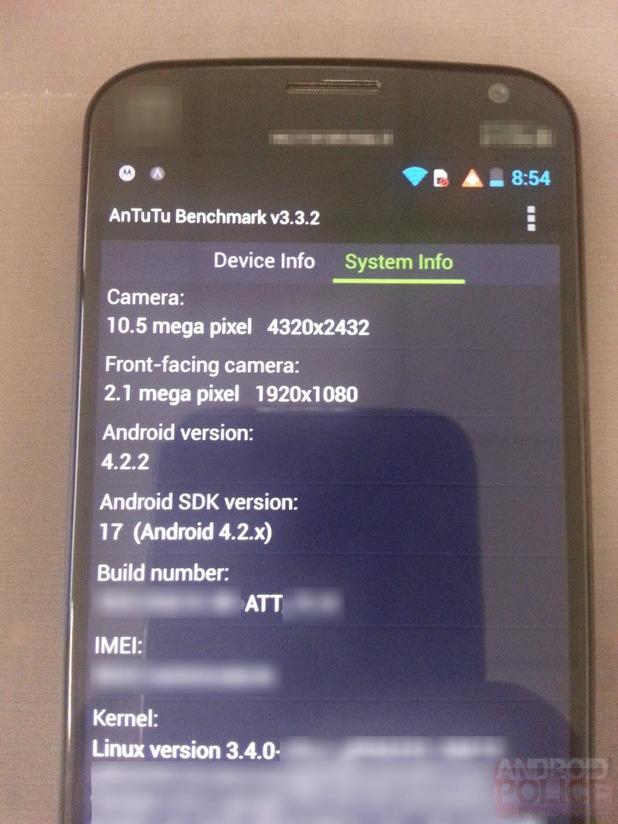 Motorola X smartphone