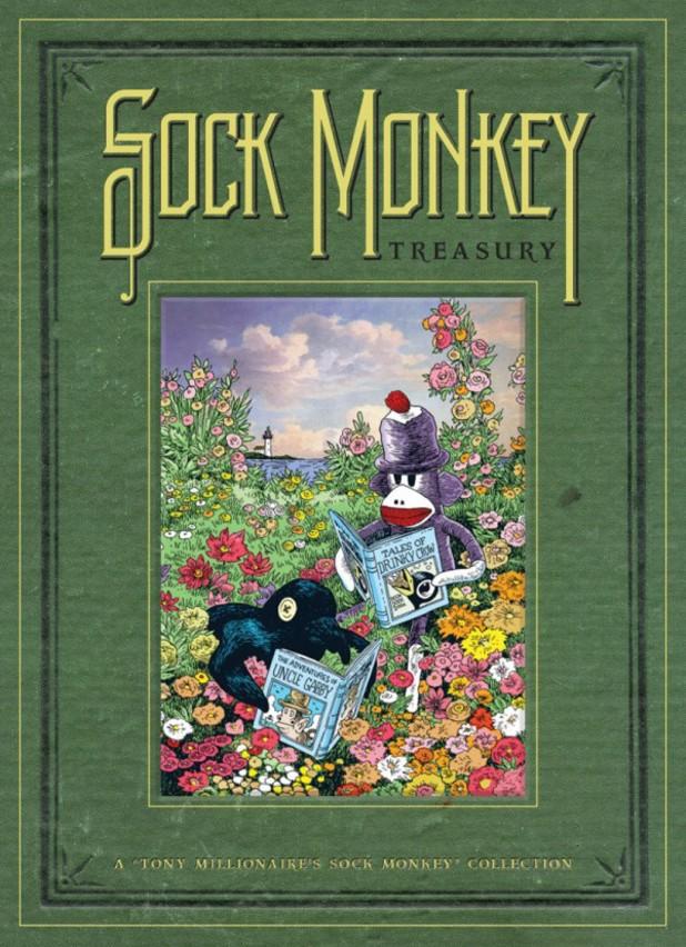 Tony Millionaire's 'Sock Monkey' artwork