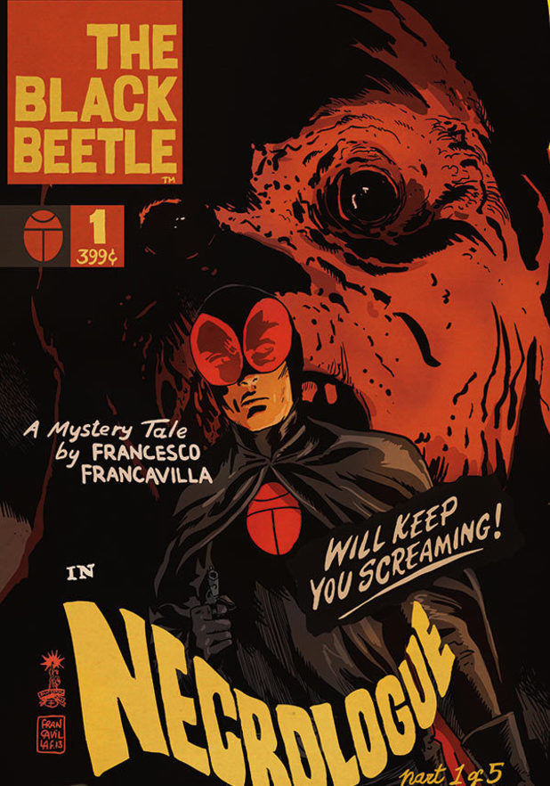 'The Black Beetle' in 'Necrologue'