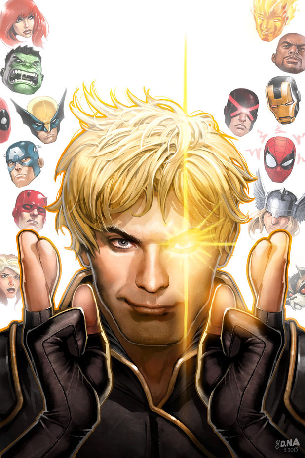 'Longshot Saves the Marvel Universe' cover artwork