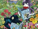 The acclaimed cartoonist brings his Sock Monkey to the publisher in late 2013.