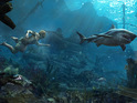 The video also gives another taste of the underwater gameplay.