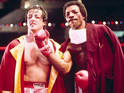 Sylvester Stallone and Carl Weathers in 'Rocky'