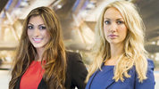 Luisa Zissman and Leah Totton battled it out in the boardroom but only one came out on top.