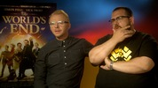 Digital Spy sat down with British actors Simon Pegg and Nick Frost to talk about their latest movie ' The World's End'. Director Edgar Wright also describes the film as more mature than Shaun of the Dead and Hot Fuzz.