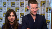Matt Smith and Jenna Coleman on the end of the 11th Doctor