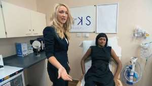 Watch a clip of Leah working on the filming during the final of 'The Apprentice'