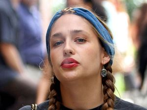 Jemima Kirke 'Girls' on set filming, New York, America - 31 Jul 2013